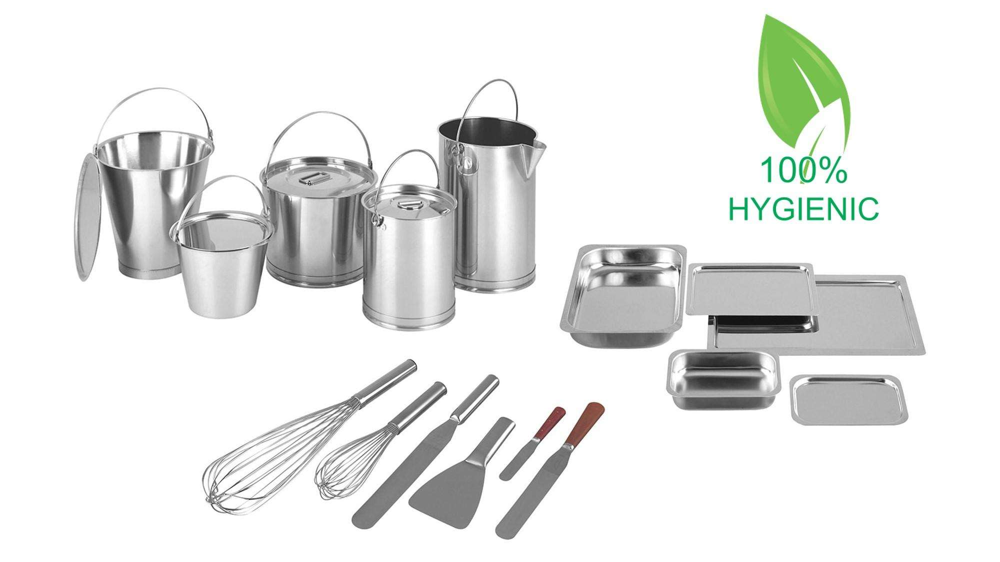 Stainless steel hygienic process equipment