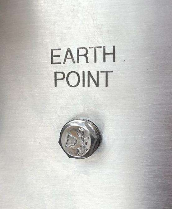 ATEX compliant filling machine Earth Point