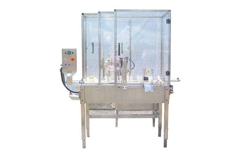 semi-automatic bag and pouch filling and sealing machine