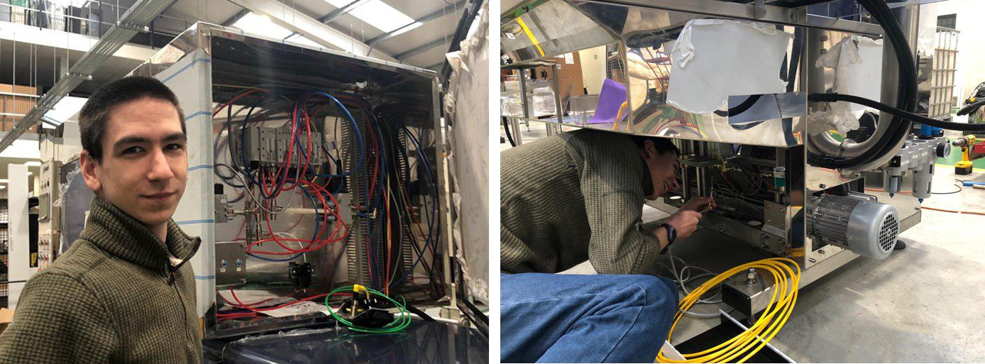 Apprentice electrical fitter - welcome pictures