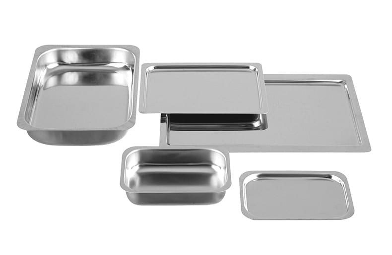 Hygienic Stainless Steel Trays