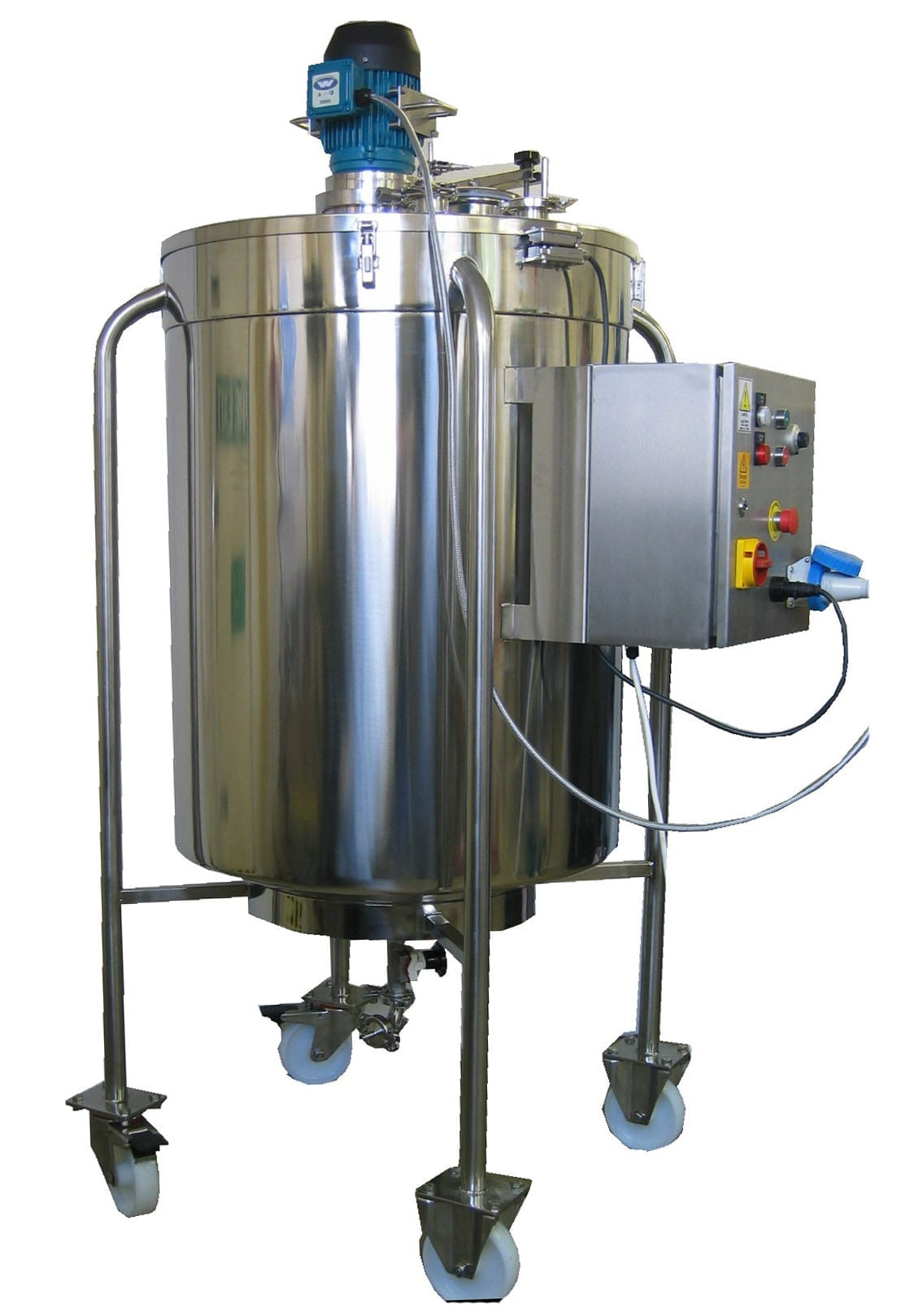 Hygienic Stainless Steel Mixing Vessel