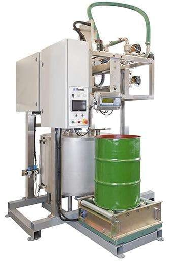 Adelphi Masterfil Drum Decanting Unit for the Lube Oil Industry