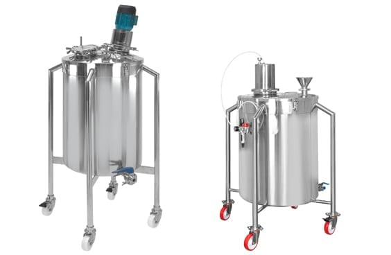 Mixing Containers - Mixing Vessels