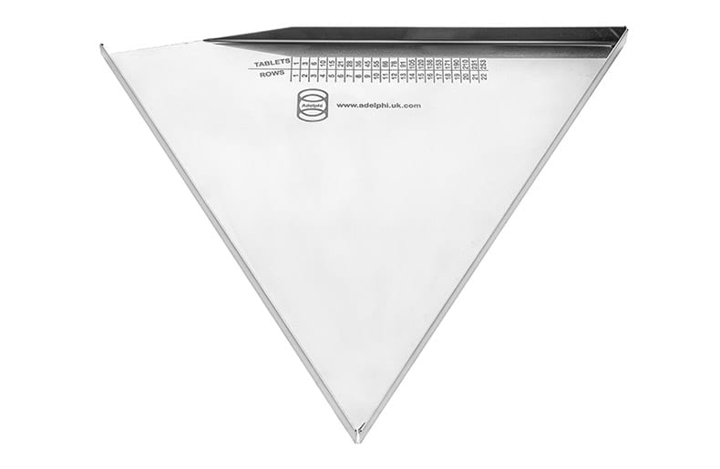 Triangular Tablet Counting Tray