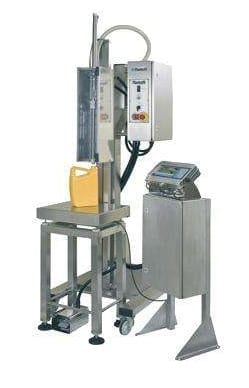 Adelphi Masterfil Semi-Automatic Weigh Scale Bench Height Filling Machine