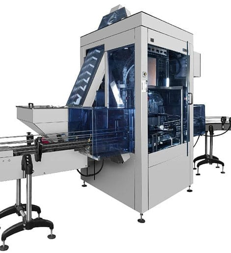 Mastercap Automatic Indexing Capping Machine