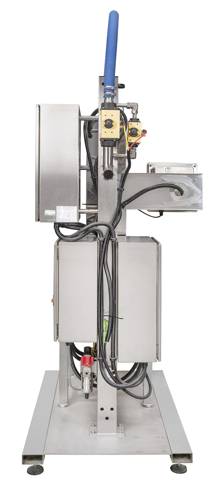 Adelphi Masterfil S5000-S Weigh Scale Semi-Automatic Filling Machine for Chemicals