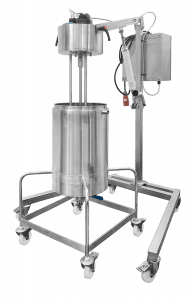 Mixing Vessel for manufacturing Dermatological Creams